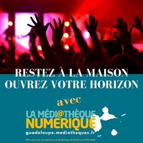 Médiathèque numérique Guadeloupe